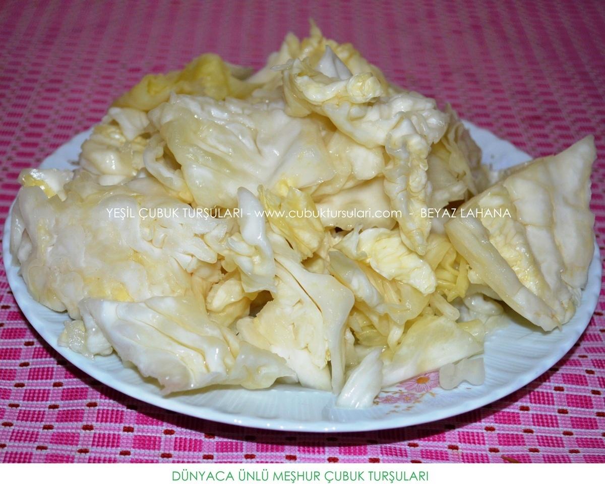 beyaz lahana cubuk tursusu